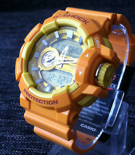 CASIO G SHOCK GA-400A-9AER YELLOW LIMITED MODEL XLARGE ANALOG&DIGITAL BRAND NEW