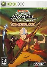 Microsoft Xbox 360 Avatar: The Last Airbender - The Burning Earth Complete RARE!