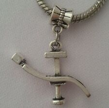 Dentist Dental Surgical Chair Dangle Bead Fits European Charm Bracelet