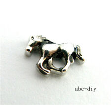 10pcs Horse Floating charms  for glass memory floating Locket Free shipping 864