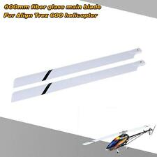 Hot Fiber Glass 600mm Main Blades for Align Trex 600 RC Helicopter 1I1Q