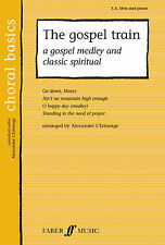 The Gospel Train Choral Gospel Mixed Voices Beginner Learn Play FABER Music BOOK
