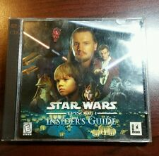 Star Wars Episode 1 Insiders Guide PC Game 2 Discs