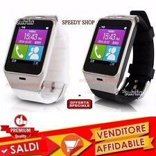 Orologio Cellulare Smart Watch Bluetooth per Smartphone Android supporto SIM SD