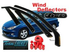 Peugeot 206 1998-2006 estate 5 Doors Wind Deflector 4 pcs. HEKO (26122)