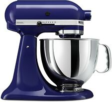 New Cobalt Blue KitchenAid Stand Mixer Tilt 4.5-Quart ksm85pbbu Metal 10-speed
