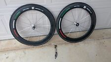3T Mercurio 60 LTD Carbon Tubular Road Wheelset Campagnolo AND/OR Shimano