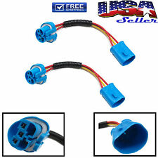 9004 9007 HB5 Extension Wiring Harness Sockets Wire For Headlights Fog Lights