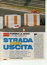 W14 Ritaglio Clipping 1994 Formula 3000 futuro incerto grave crisi top team