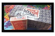 TALLY HO #9 Playing Cards 72 Decks Fan BacK Original