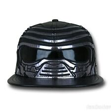 New ERA STAR WARS Force Awakens KYLO REN CHARACTER FACE Fitted Cap Size 7 1/8
