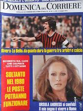 Domenica Del Corriere n°19 1973 Il Cesena Ursula Andress Agostina Belli  [D24]