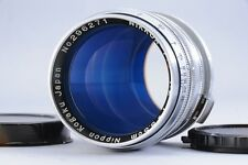 Excellent  NIPPON KOGAKU NIKKOR - P.C 8.5cm 85mm F/2 for Nikon S from Japan