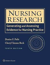 NEW : Nursing Research:Generating & Assessing Evidence 10 ed  INTLD ED