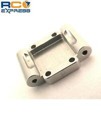 Hot Racing Aluminum Rear Arm Mount -1deg (Silver) - Losi 1/36 Micro-T MCT10A08