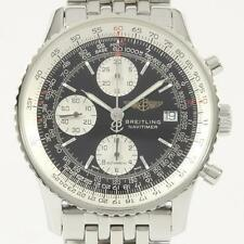 Authentic BREITLING A13322 A142B02NP Old Navi Timer Automatic  #260-001-447-9007