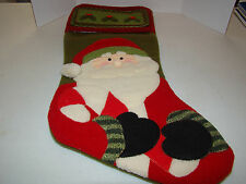Santa Christmas Stocking - Used - Cute