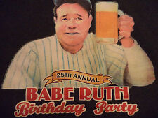 BABE RUTH'S BIRTHDAY PARTY/ NEMO'S BAR DETROIT t shirt sz M MINT COND tiger