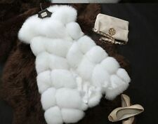 Long Faux Fur Winter Vest