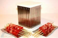 MAGIC KEBAB KABOB MAKER BOX FOR MEAT FISH FRUIT VEGETABLES SKEWERS SHISH CUBO
