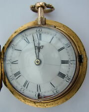 Verge fusee, Dumb quarter repeater by Antram London maker to the king c 1710