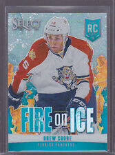 2013-14 Select Fire on Ice Rookies Prizms Blue #FR15 Drew Shore 06/25