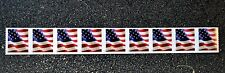 2017USA Forever U.S. Flag US - PNC Plate Number (#B1111) Coil Strip of 9 (BCA)