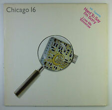 "12"" LP - Chicago  - Chicago 16 - L7495 - washed & cleaned"
