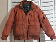 MENS JACKET WAVE GAP BY SHIMPEX DOWN FEATHER FILLED SIZE M  COTTON BROWN