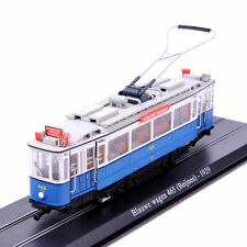 1/87 Atlas Tram Model Blauwe wagen 465 Beijnes 1929 Diecast Car Bus TrucK  Model