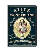 Alice in wonderland Vintage Galore Stitch Note Book Blank Note Gift Good Design