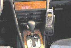 05//04-02//11 Echtleder Haweko Telefon Konsole für Audi A6 Bj C6