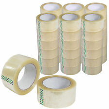 """36 Clear Rolls Box Carton Sealing Packing Packaging Tape 2""""x110 Yards(330' ft)"""