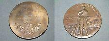 1. GUERRE MONDIALE MÉDAILLE 1918-debout soldat-relief-Bronze - 103,5g - 65mm