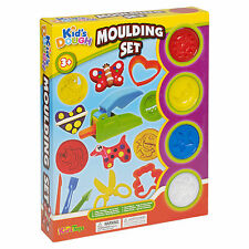 29pc Play Dough Kids vasche & plasmare Set Stampaggio FORBICI Shaper Bambini Natale