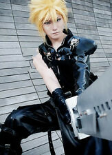 New Hot! Final Fantasy VII Cloud Strife Short Blonde Anime Cosplay Cos Hair Wig