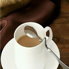 Coffee Stainless Steel Curved Kitchen Tea Soup Spoon Tableware Cute