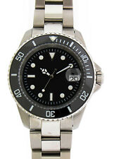 Custom 40mm Stainless Steel Submariner Diver Watch Miyota 9015 movement