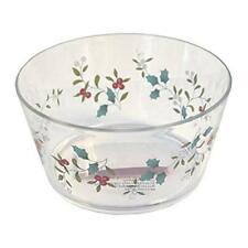 New Pfaltzgraff Winterberry 16 oz. Acrylic Bowl See Thru - Authorized Dealer