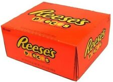 18 PACK  Reese's Pieces Peanut butter in crunchy shell best candy chocolate
