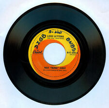 """Philippines NAT """"KING"""" COLE Love Letters 45 rpm Record"""