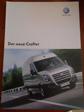 VW Crafter range brochure Apr 2006 German text