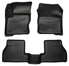 Husky Weatherbeater Front & Rear Custom Fit Floor Mats 12-15 Ford Focus 98771