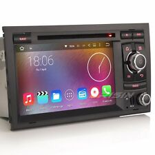 "7"" Car DVD Player GPS WiFi 3G DVR 4-Core Android 5.1 For AUDI A4 S4 B7 B9 4028US"