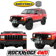 Smittybilt XRC Rock Crawler Winch Bumper w/ D-ring Mounts Jeep Cherokee XJ 84-01
