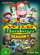 The Wild Thornberrys: Season 1 (4 Discs)  - DVD - NEW Region 4