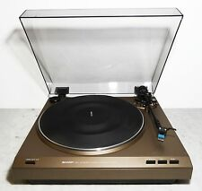 Vintage turntable tourne-disques Belt Drive record player sharp rp-200