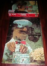 MUPPET MOVIE Swedish Chef vtg jigsaw puzzle 1979 toque blanche spoons