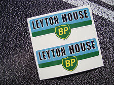 2 X LEYTON HOUSE / MARCH TEAM CLASSIC F1 STICKERS VINTAGE F1 IVAN CAPELLI