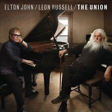 """Elton John / Leon Russell """"The Union"""" Deluxe CD + DVD T-Bone Burnett"""